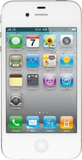 Apple iPhone 4 32Gb White фото 417